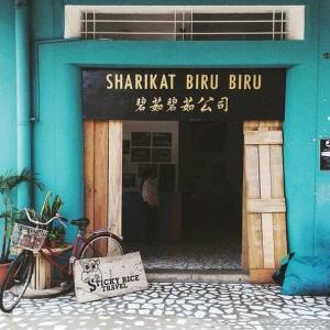 Biru Biru Cafe, Australia Place, Kota Kinabalu, Sabah, Malaysia, Borneo
