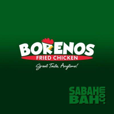 Borenos Fried Chicken in Kota Kinabalu, Sabah