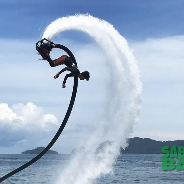 Kota Kinabalu Flyboarding Activity