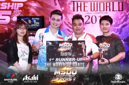 Nick Chu. Trios Random. Runner-up.