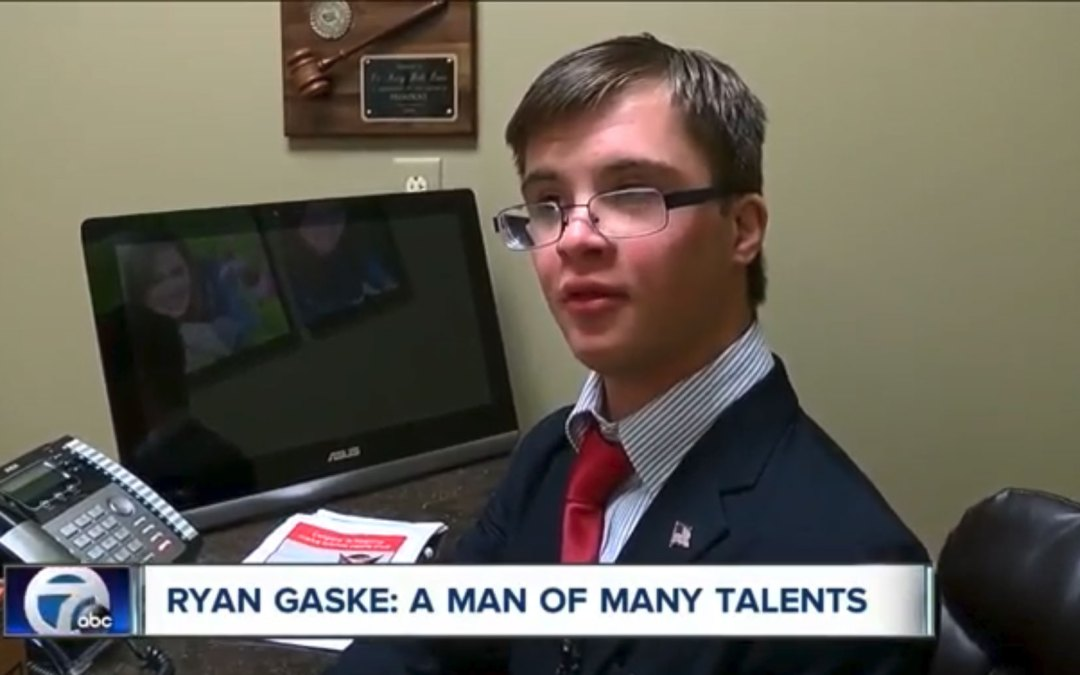 Ryan Gaske inspires Clarence teammates with his determination and love for the game