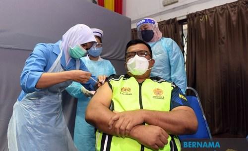 RAVO Berjaya Vaksinasi Hampir 100% Penduduk Di 75 Lokaliti Sandakan