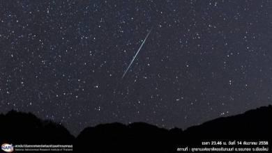 Photo of В ночь на 14 декабря в Таиланде, можно будет увидеть падающие звезды