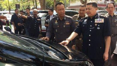 Photo of 20 украденных автомобилей класса люкс стоимостью 30 млн. бат возвращены в Малайзию