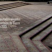 Lista de Diputados elegidos para la Asamblea de Sucre. Elecciones 2015.