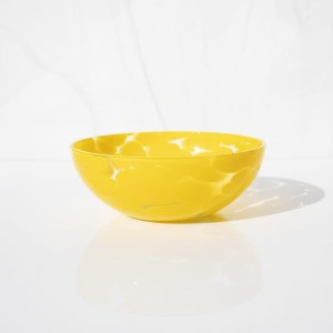 Mango yellow bowl