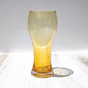 Amber Beer Glass