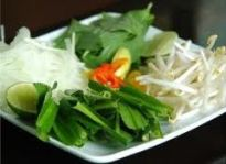 Vegies to be used with Kuy Teov (Noodle Soup)