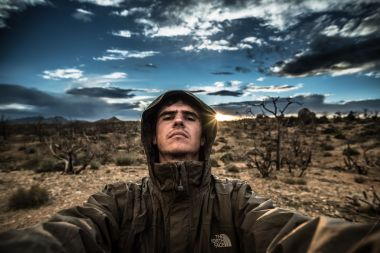 selfie of sabbalot photography in the mojave desert