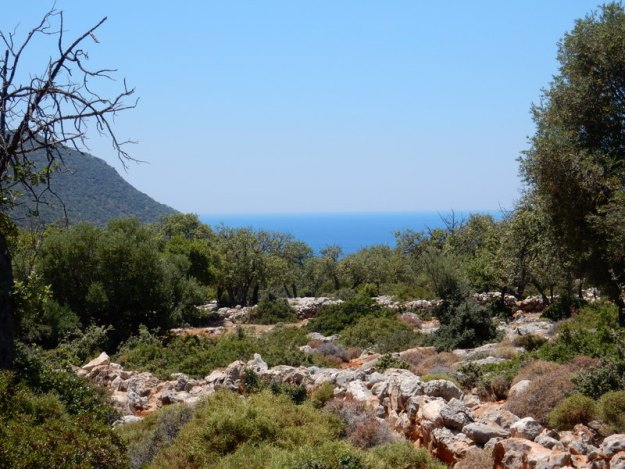 View from the Lycian Trail