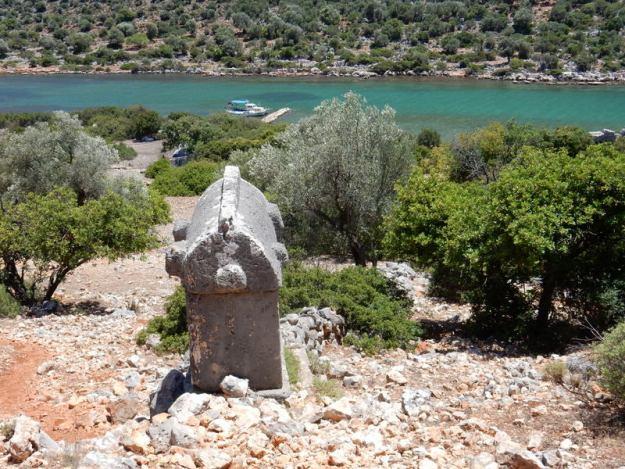Sarcophogus, Aperlae (Kekova(