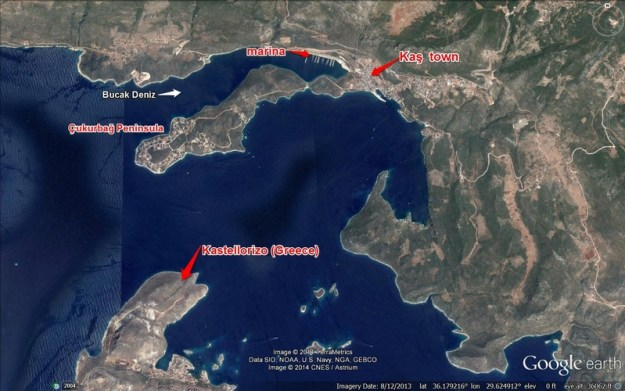 Kaş and environs