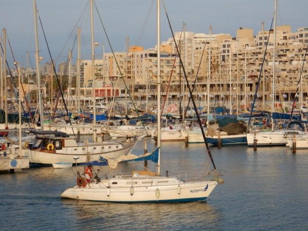 View of the Ashkelon Marina