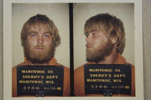 Avery quando foi preso pela primeira vez.