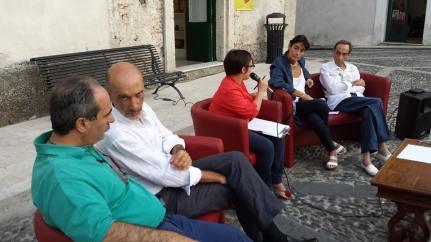 Gerace (Rc) 19/07/14 P.Varacalli, E.Romeo, M.Larosa, P.Bottero, M.Congiusta  carta vetrata 
