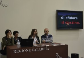 Torino 16/05/13 sabbiarossa al XVI Salone internazionale del Libro