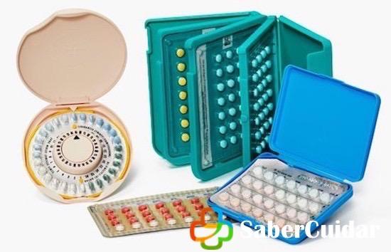 Diferentes píldoras anticonceptivas