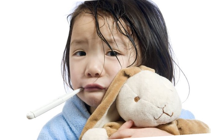 tratar fiebre a pequeños