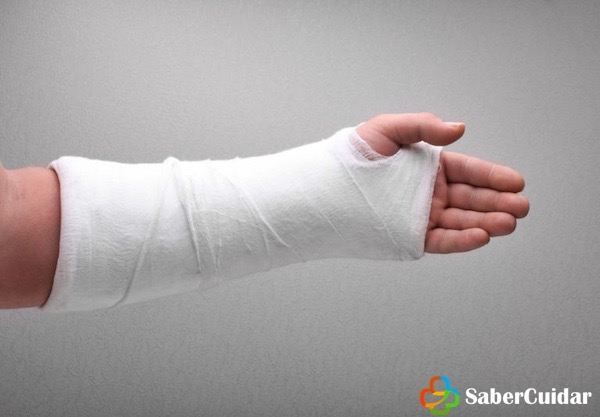 vendaje rigido brazo