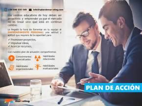 plan accion marketing educativo