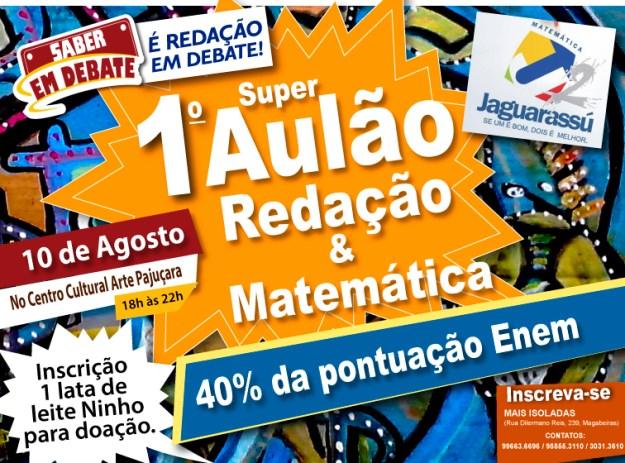 AULÃO-AGOSTO