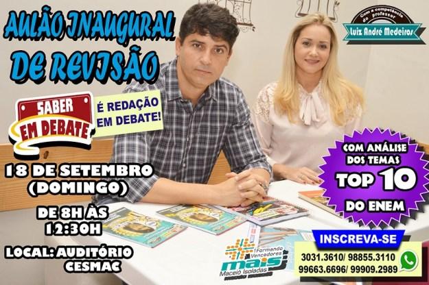 Aulão Redação Auditório CESMAC andré
