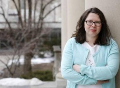 Amelia Karraker. (Foto: Christopher Gannon, Universidad Estatal de Iowa)