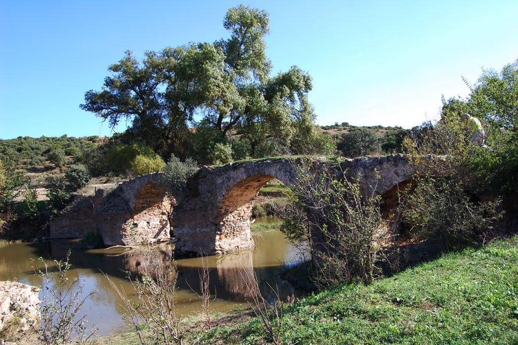Puente de las Ovejas. Los Pozuelos de Calatrava. Autor, Delahiguera