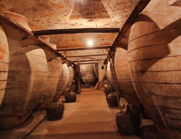 Antigua cueva bodega de Tomelloso