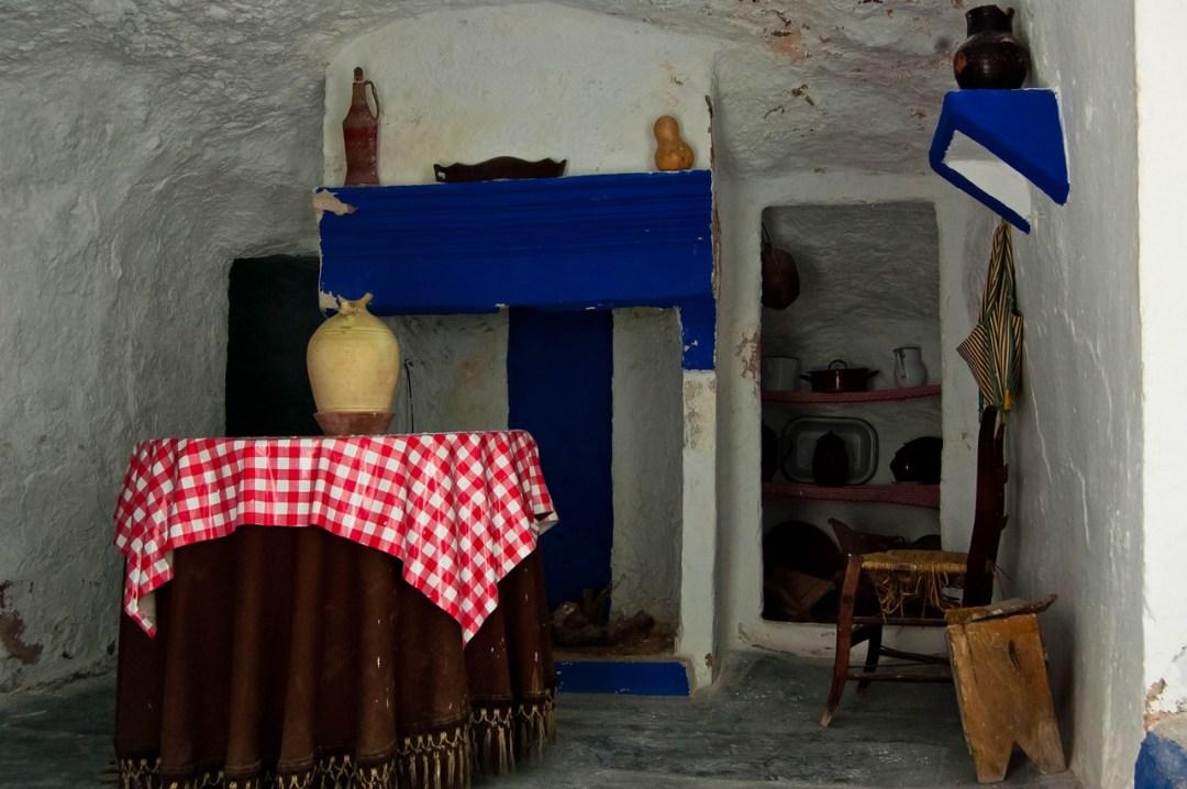 Interior de casa - cueva. Autor, David Martínez Gómez