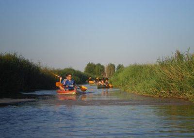 Paseo en canoa por las Tablas de Daimiel y Lagunas de Ruidera