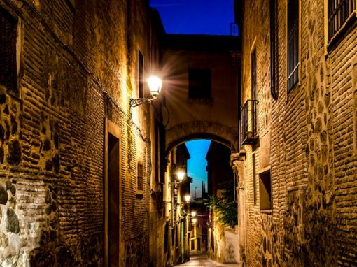 Ruta nocturna Toledo subterráneo