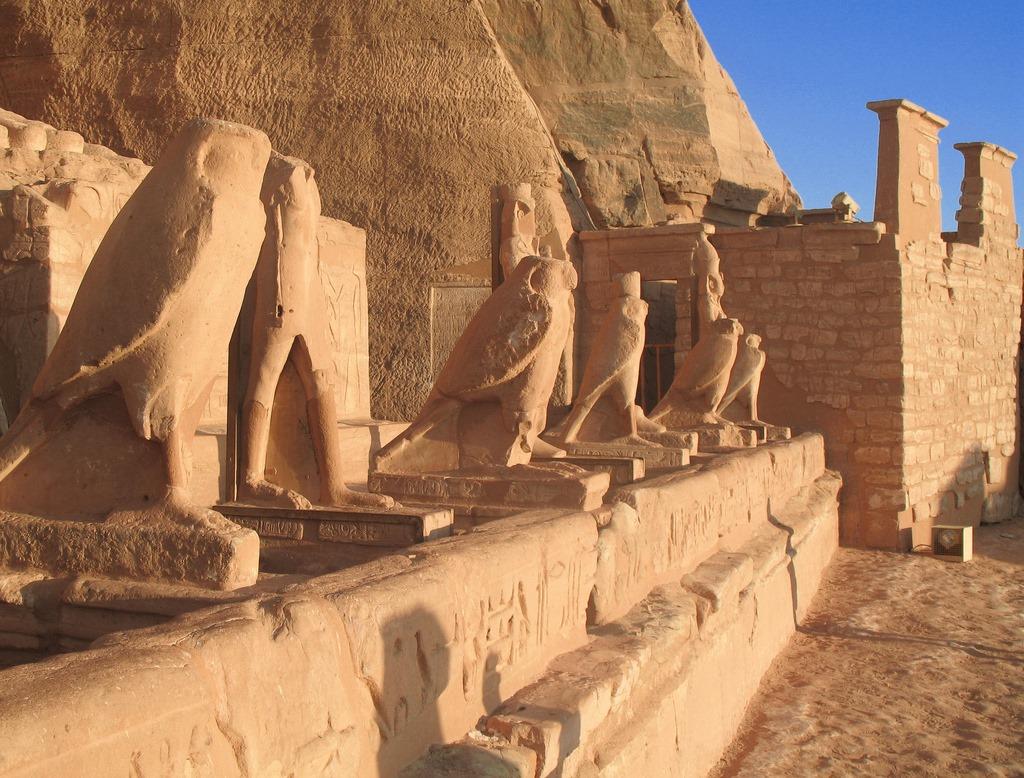 Egipto Dios Horus Halcón Hor