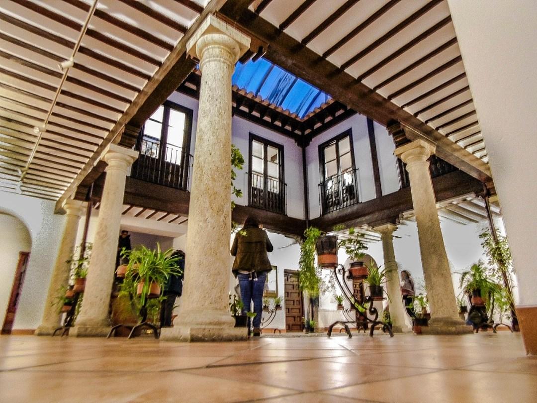 Patio de la Casa de la Encomienda. Autor, Juan Pedro García