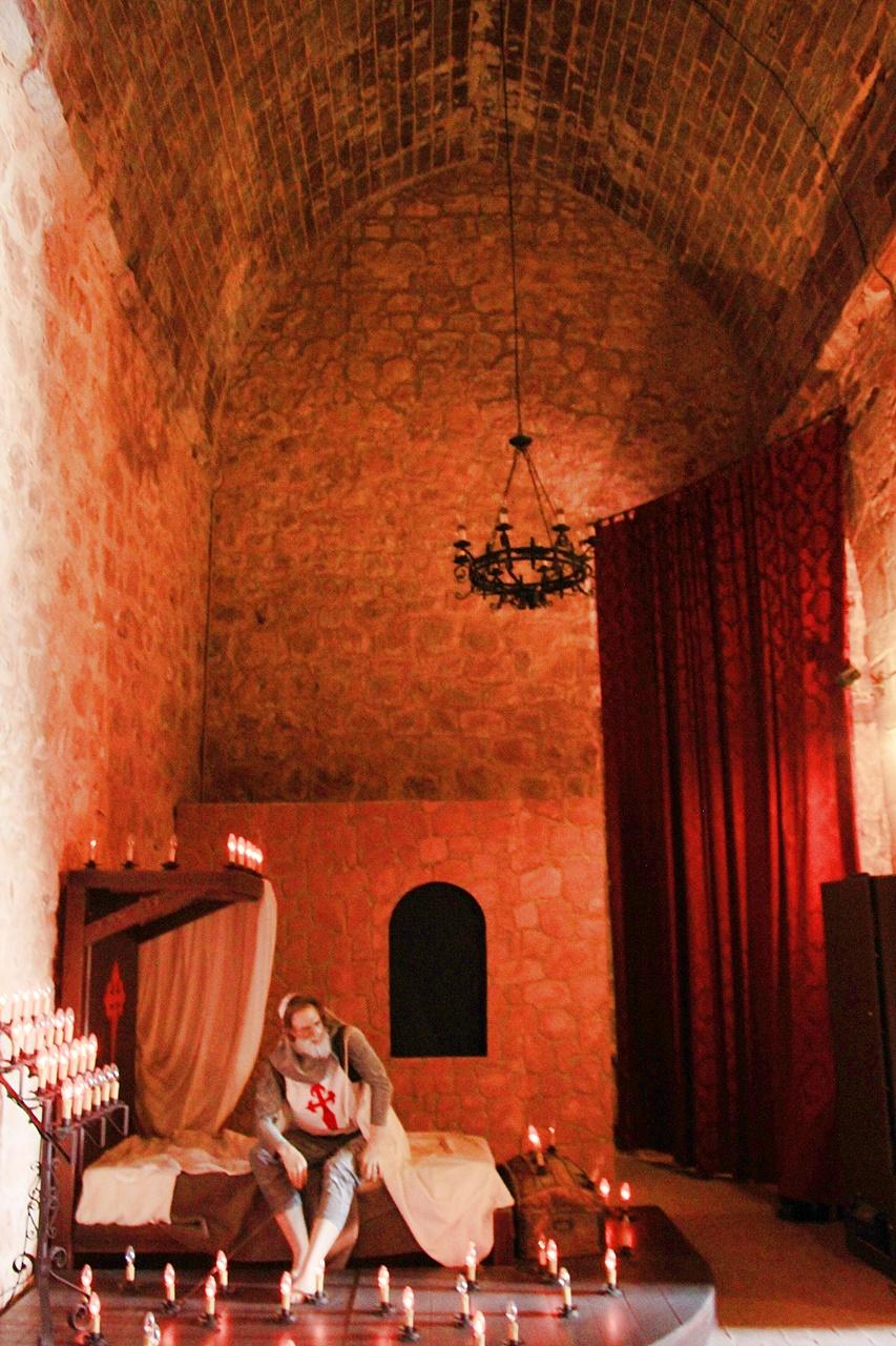 Interior del Castillo de Terrinches