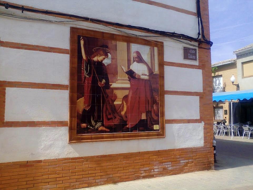 Museo al aire libre de Almedina. Autor, Pedro Castellanos
