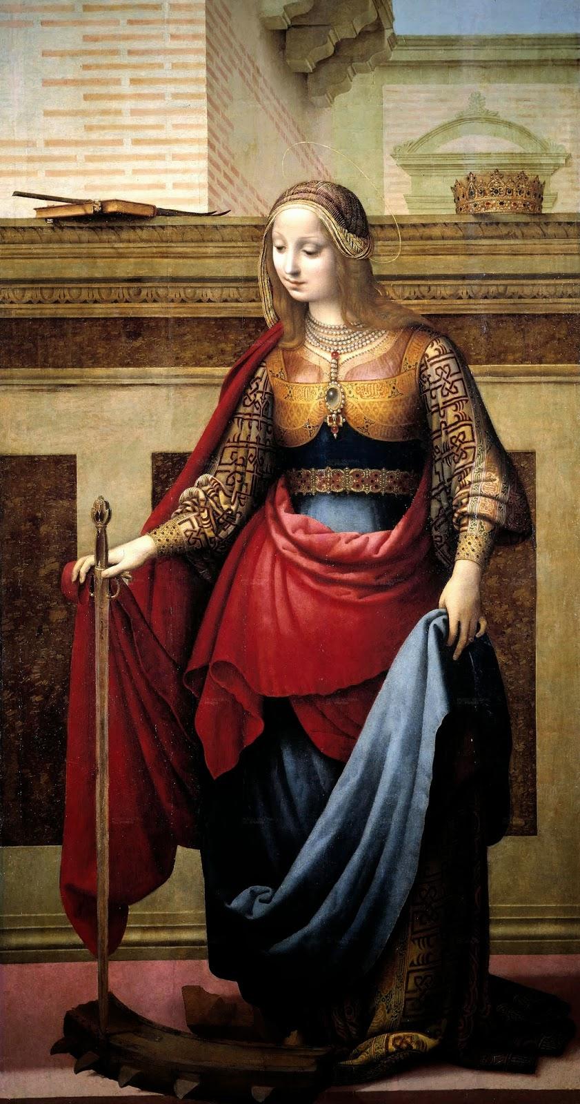 Santa Catalina de Alejandría. Museo del Prado