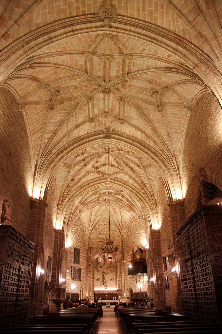Bóvedas de la iglesia de San Andrés, Villanueva de los Infantes