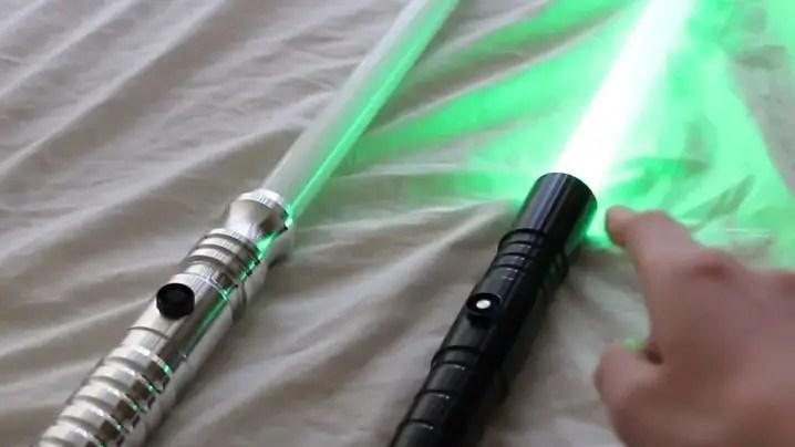 Ultrasabers Dark Initiate V2 lightsaber