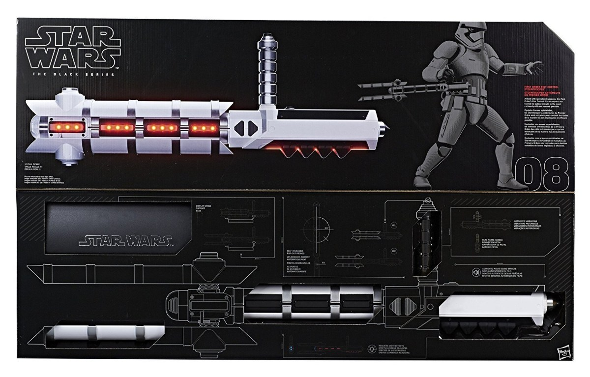 Amazon Sale: $89.99 Star Wars The Black Series Riot Trooper Baton (50% discount)