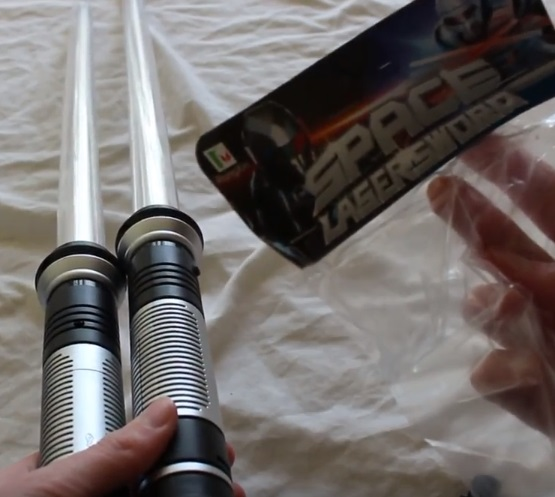 Total FX Rogue lightsabers