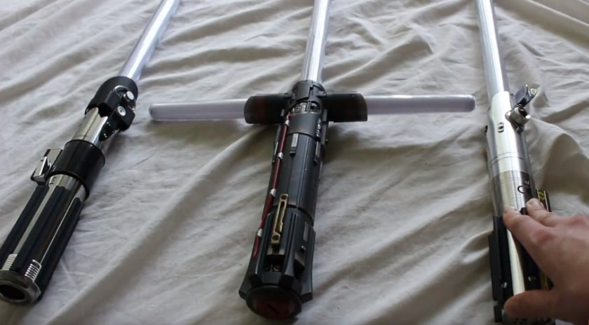Star Wars The Black Series Force FX lightsabers