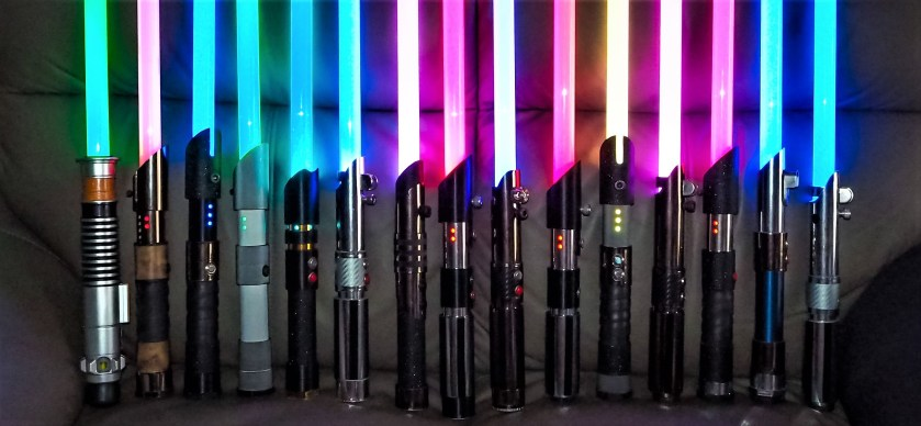 ACLightsabers custom sabers with attached blades