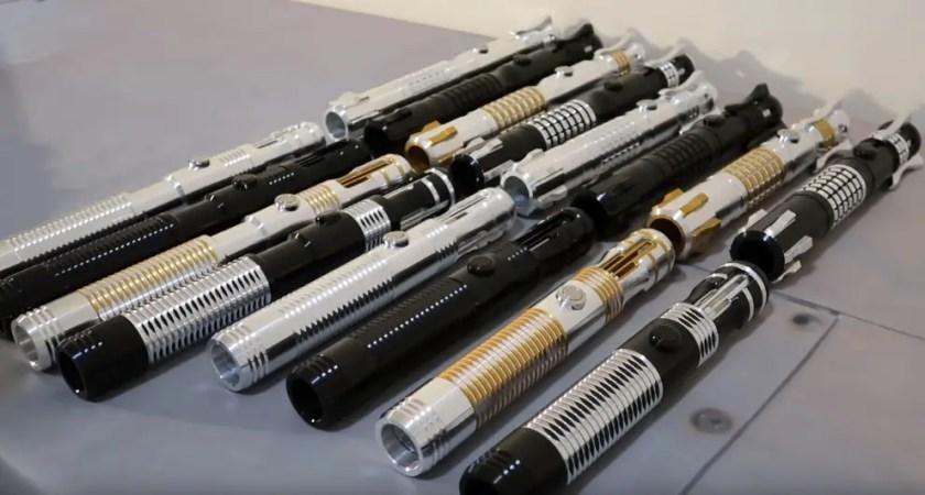 Ultrasabers V5 lightsabers