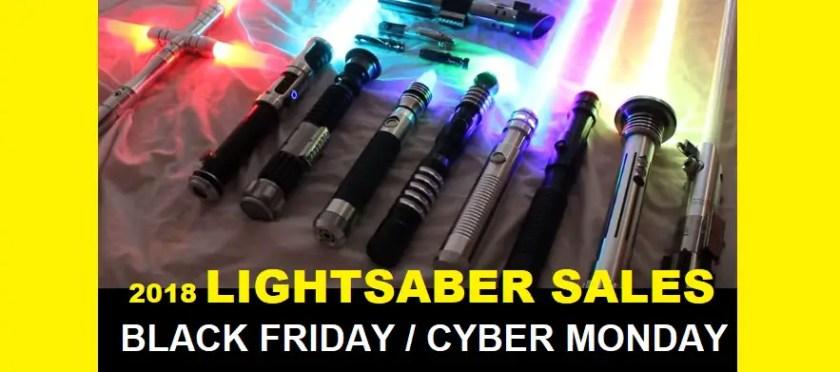 Black Friday Cyber Monday Lightsaber Sales 2018