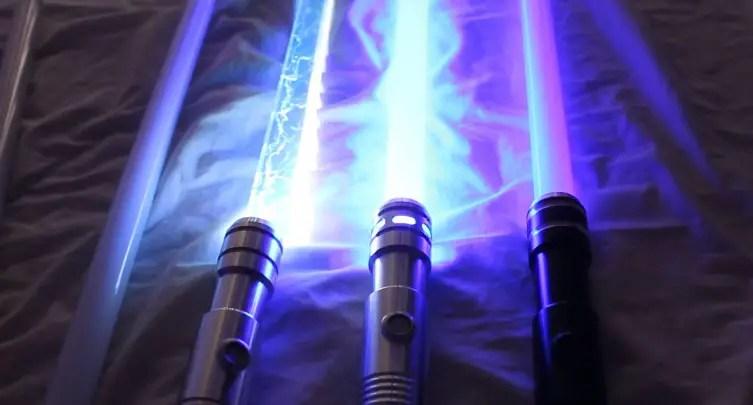 lightsabers blades