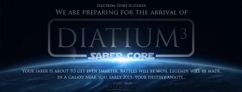 Electrum Sabercrafts Diatium 3 SaberCore