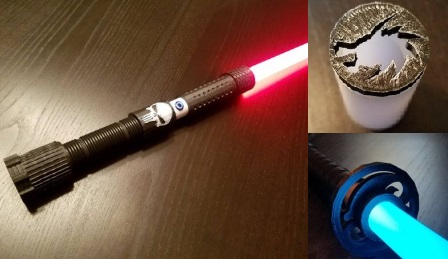 Blue Force Sabers lightsabers and blade plugs