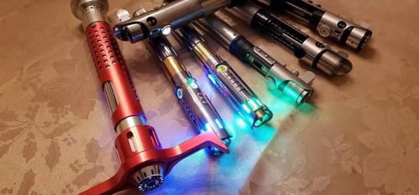 lightsaber collection Lauj