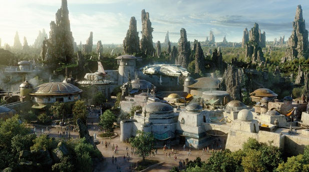 First Look at Savi & Son Salvage: Disney's New Lightsaber Building Shop at Star Wars: Galaxy's Edge Park